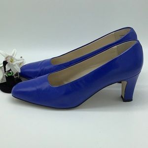 Connie Blue Heels